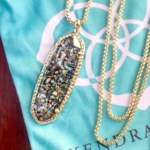 Kendra Scott Crushed Abalone Layden Necklace